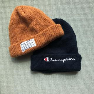 チャンピオン(Champion)のレディース ニット帽 セット(ニット帽/ビーニー)