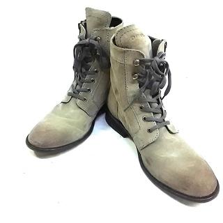 ディーゼル(DIESEL)のディーゼル ブーツ 43 メンズ グレー(ブーツ)