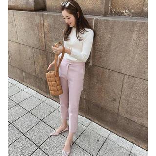 hyeon ヘヨン センタープレス パンツ(カジュアルパンツ)