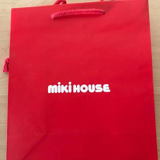 ミキハウス(mikihouse)のミキハウスショップ袋2枚(ショップ袋)