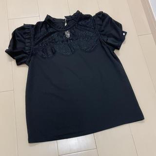 スナイデル(snidel)の新品未使用 Preorder 即完売 トップス❤︎ブラック(Tシャツ(半袖/袖なし))