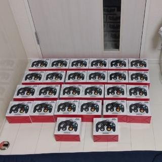 ニンテンドーゲームキューブ(ニンテンドーゲームキューブ)の【任天堂純正品】ゲームキューブ コントローラー スマブラブラック 26個セット(その他)
