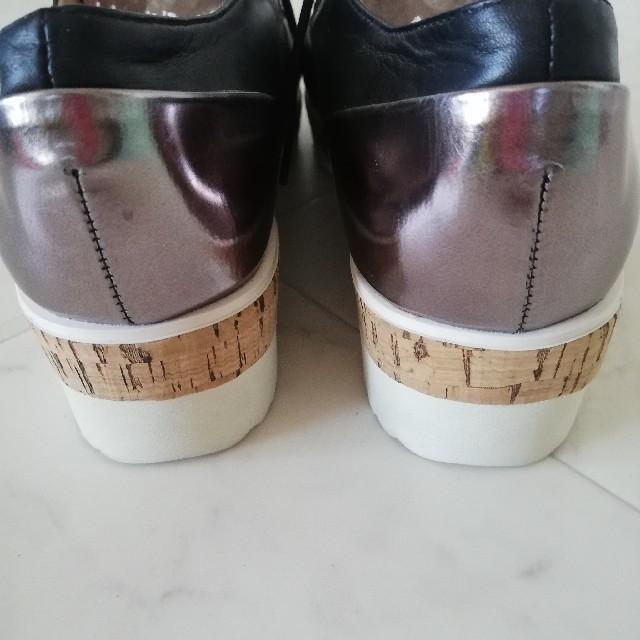 あしながおじさん(アシナガオジサン)の未使用!!あしながおじさん レースアップシューズ 23.5cm レディースの靴/シューズ(ハイヒール/パンプス)の商品写真