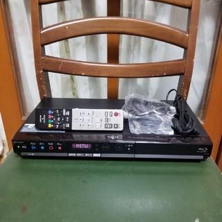 シャープ(SHARP)の新品同様完動品!W録3D外付HDD可!スマホ対応!シャープBD-HW51(ブルーレイレコーダー)