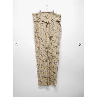 アンユーズド(UNUSED)のmidorikawa flower print pants(その他)
