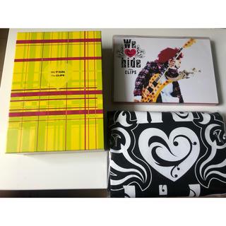ユニバーサルエンターテインメント(UNIVERSAL ENTERTAINMENT)のWe love hide~The Clips~(初回限定盤) DVD(ミュージック)