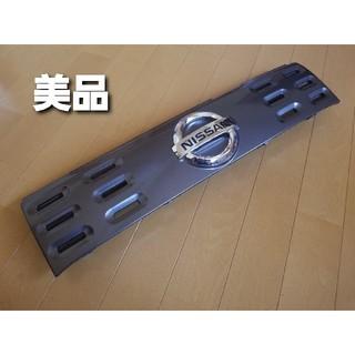 ニッサン(日産)の【美品】日産 キューブ Z12 フロントグリル(車外アクセサリ)