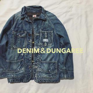 DENIM DUNGAREE - ジージャン