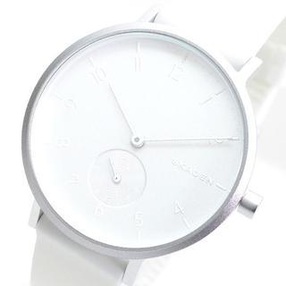スカーゲン(SKAGEN)のスカーゲン腕時計 メンズ レディース SKW2763 シルバー ホワイト(腕時計)