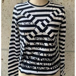 コムデギャルソン(COMME des GARCONS)のコムデギャルソン ボーダー レディース 長袖 フレンチ(Tシャツ(長袖/七分))