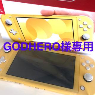 ニンテンドースイッチ(Nintendo Switch)のGODHERO様専用(携帯用ゲームソフト)