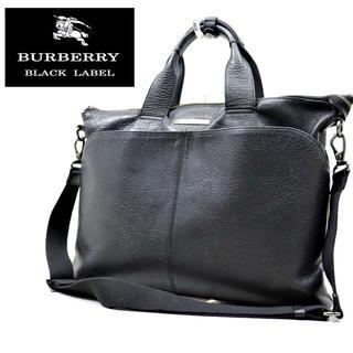 BURBERRY BLACK LABEL - 入手困難! 美品 BURBERRY バーバリー ビジネスバック ブリーフケース