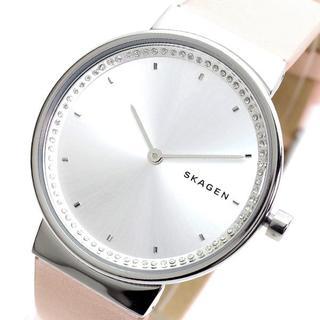 スカーゲン(SKAGEN)のスカーゲン 腕時計 レディース SKW2753 クォーツ シルバー ピンク(腕時計)