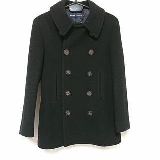 ラルフローレン(Ralph Lauren)のラルフローレン Pコート サイズ9 M美品  黒(ピーコート)