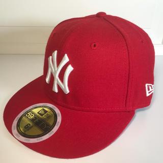 ニューエラー(NEW ERA)の子供用 ニューエラ ヤンキースキャップ 新品未使用 男女兼用 送料無料(帽子)