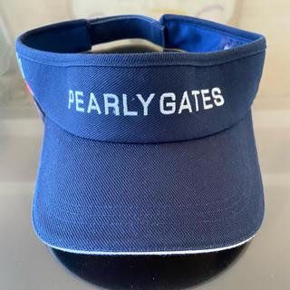 パーリーゲイツ(PEARLY GATES)のパーリゲイツ サンバイザー(サンバイザー)