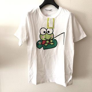サンリオ(サンリオ)の未使用品 サンリオ けろけろけろっぴのTシャツ Sサイズ(Tシャツ(半袖/袖なし))