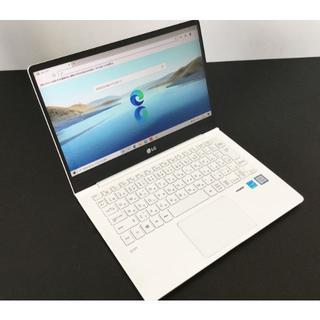 エルジーエレクトロニクス(LG Electronics)の極上品!LG ノートPC  13Z990-GA54J 8GB/256GB(ノートPC)