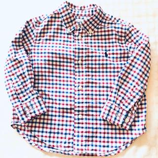 ラルフローレン(Ralph Lauren)のラルフローレン ワイシャツ シャツ カーディガン  男の子 秋(カーディガン)