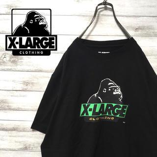 エクストララージ(XLARGE)の激レア 90s エクストララージ Tシャツ オリジナルゴリラ 美品(Tシャツ/カットソー(半袖/袖なし))