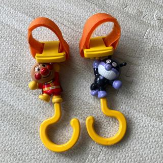 アンパンマン(アンパンマン)のベビーカー フック アンパンマン ばいきんまん ベビーカー用アクセサリー(ベビーカー用アクセサリー)