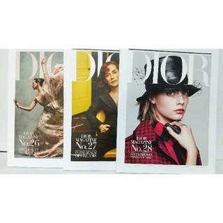 ディオール(Dior)の3冊セット/Dior▪MAGAZINE/No.26▪27▪28(ファッション)