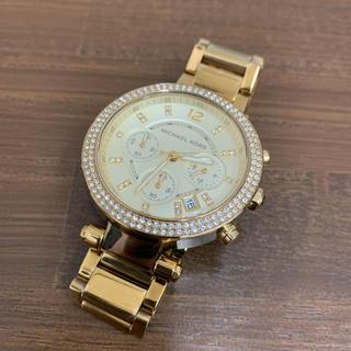 マイケルコース(Michael Kors)のマイケルコース レディースウォッチ ラインストーン(腕時計(アナログ))