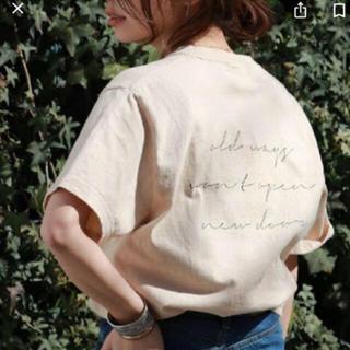 アングリッド(Ungrid)のungridメッセージロゴT(Tシャツ(半袖/袖なし))