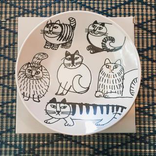 リサラーソン(Lisa Larson)のリサラーソン  お皿 猫(食器)