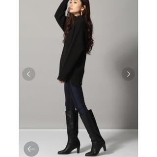 ジーナシス(JEANASIS)のブーツ 黒(ブーツ)