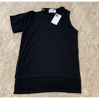 スタイルナンダ(STYLENANDA)のSTYLE NANDA アシンメトリー Tシャツ カットソー(Tシャツ(半袖/袖なし))