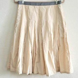マーガレットハウエル(MARGARET HOWELL)のMARGARET HOWELL フレアスカート プリーツスカート(ひざ丈スカート)