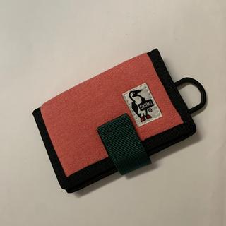 チャムス(CHUMS)のチャムス カードケース ピンク(パスケース/IDカードホルダー)