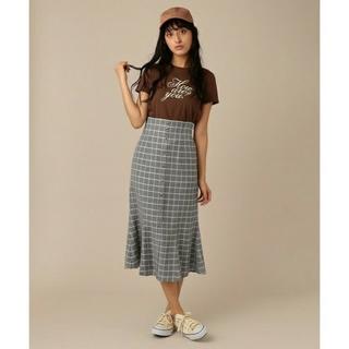 デイシー(deicy)のdeicy ギンガムチェック スカート (ひざ丈スカート)