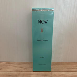 ノブ(NOV)のNOV ウォッシングクリーム(洗顔料)