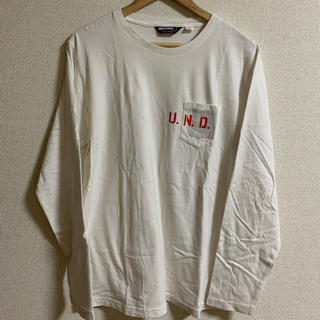 アンディフィーテッド(UNDEFEATED)のUNDEFEATED ロングTシャツ 古着 (Tシャツ/カットソー(七分/長袖))