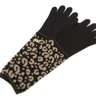 ルイヴィトン(LOUIS VUITTON)のルイヴィトン 手袋 レディース美品  豹柄(手袋)