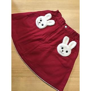 シャーリーテンプル(Shirley Temple)のシャーリーテンプル☆120センチ☆ウサギスカート(スカート)