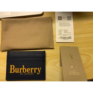 バーバリー(BURBERRY)の⭐︎新品未使用⭐︎ バーバリー カードケース(名刺入れ/定期入れ)