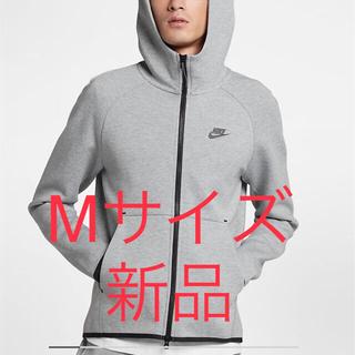 ナイキ(NIKE)の【新品】NIKEテックフリースフルジップパーカーグレーM(パーカー)