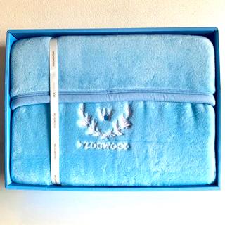 ウェッジウッド(WEDGWOOD)の未使用 ウエッジウッド アクリル ニューマイヤー毛布(毛布)