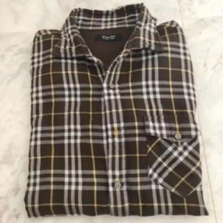 バーバリーブラックレーベル(BURBERRY BLACK LABEL)のバーバリー チェックシャツ(シャツ)