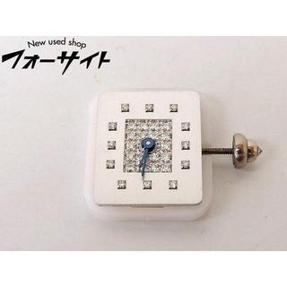 ショーメ(CHAUMET)のショーメ 文字盤 ■ ダイヤ入り シルバー スクエア 1(腕時計)