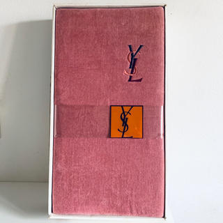 サンローラン(Saint Laurent)のイヴサンローラン 綿毛布 テリーブランケット(毛布)