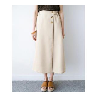 ハコ(haco!)のhaco!  ラップスカート (ひざ丈スカート)