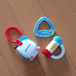 ミキハウス(mikihouse)のミキハウス 赤ちゃんのおもちゃ3個セット(知育玩具)