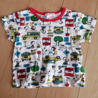 スヌーピー(SNOOPY)のSNOOPY ♡ Tシャツ95(Tシャツ/カットソー)