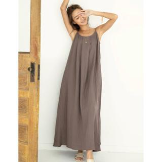 ALEXIA STAM - ALEXIASTAM Linen Summer Maxi Dress Brown