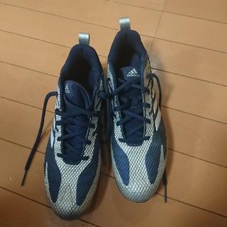 アディダス(adidas)のアディダス  金スパイク  25cm(シューズ)