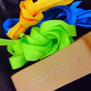 ルイヴィトン(LOUIS VUITTON)の【新品☆】ルイヴィトン  ギフト用  おリボン🎁🎀(ラッピング/包装)